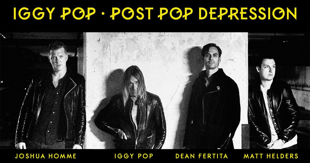 Iggy Pop Tour 2020 FREE